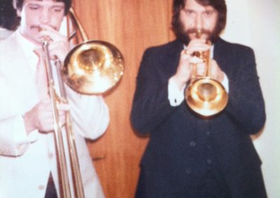 Bill and Chuck Findley 1977