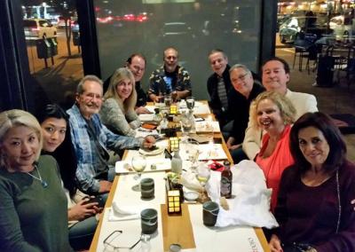 Bill at Tom Malone's 69th Birthday Dinner