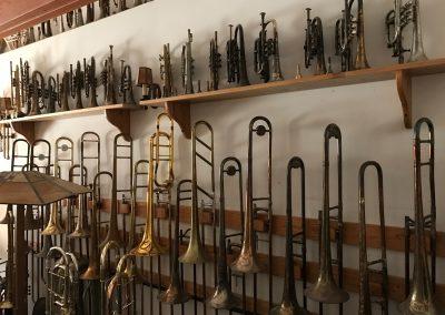 One Wall of Trombones