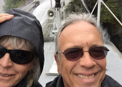 Fran and Bill in Alaska 2016