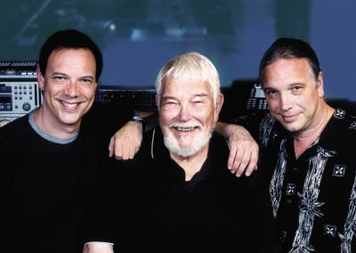 Taken during the recording of Kurt's album. Kurt, Dad, Bill