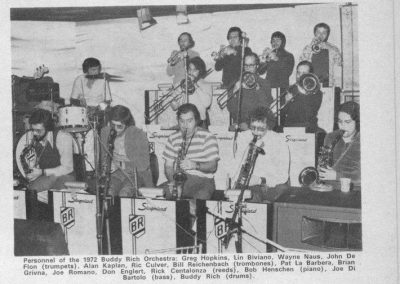 Buddy Rich Band 1972