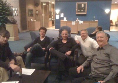 Eastern Trombone Workshop - Daniel Schnyder (composer), Stefan Schultz, Bill, Andy Malloy, Jim Pugh
