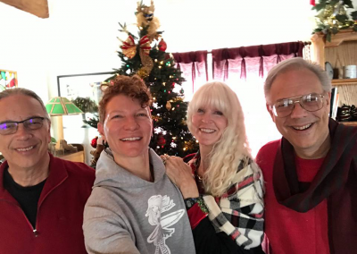 Christmas 2016 - Bill, Anah, Fran, Kurt